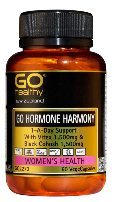 GO HORMONE HARMONY - 1-A-Day Support (60 Vcaps)