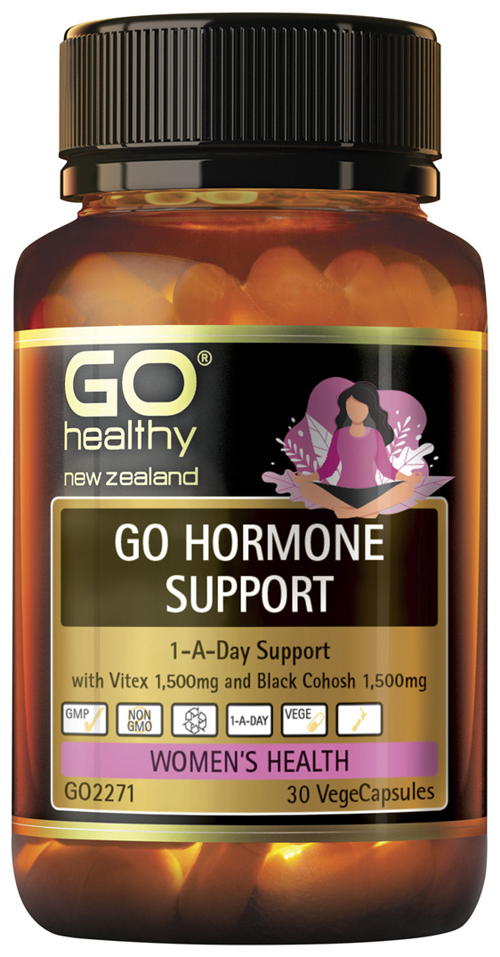 GO Hormone Support 30 VCaps