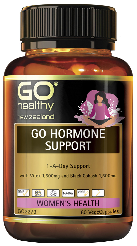 GO Hormone Support 60vcaps
