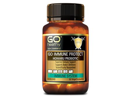 GO IMMUNE PROTECT HOWARU® PROBIOTIC - SUPERIOR IMMUNE SUPPORT (30 VCAPS)