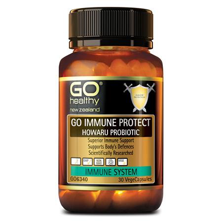 GO Immune Protect Probiotic 30vcaps