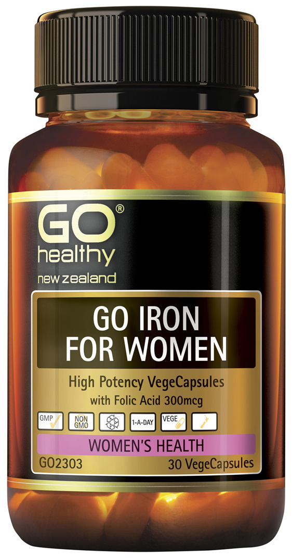 GO Iron for Women 30 VCaps