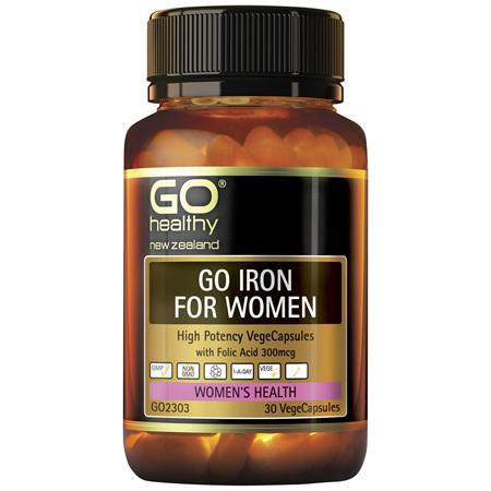GO Iron for Women 30vcaps