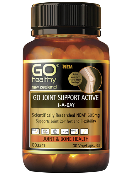 GO Joint Support Active 1-A-Day 30 VCaps