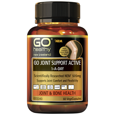GO Joint Support Active 1-A-Day 60 VCaps