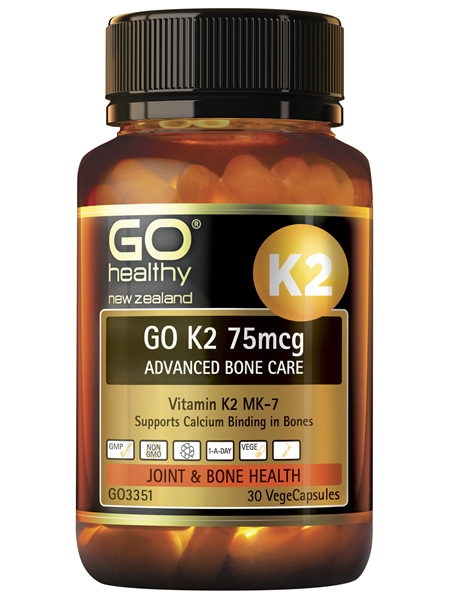 GO K2 75mcg Advanced Bone Care 30 VCaps