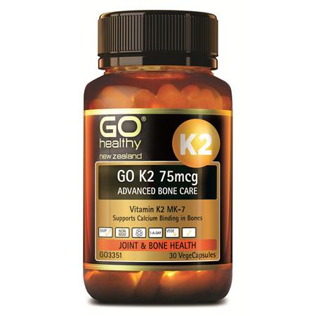 GO K2 75mcg Advanced Bone Care 30vc