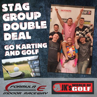 go karting and driving range double deal