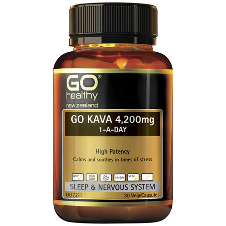 GO Kava 1-A-Day 4200mg 30 Vcaps