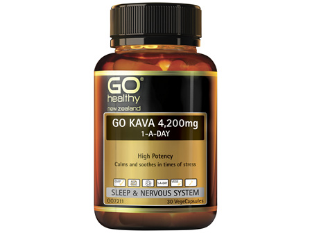 GO Kava 4,200mg 1-A-Day 30 Vcaps