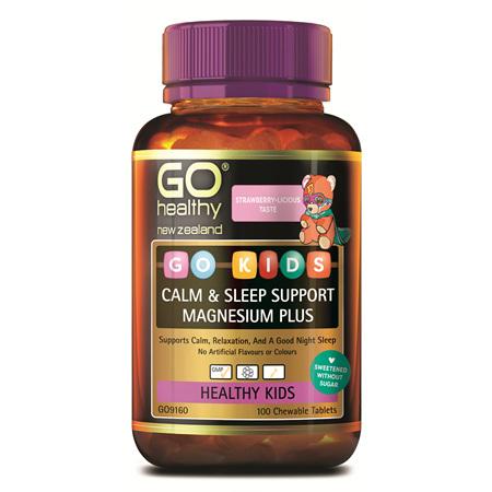 GO Kids Calm & Sleep Mag+ 100 Chew