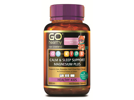 GO KIDS CALM & SLEEP SUPPORT MAGNESIUM PLUS (100 C-TABS)