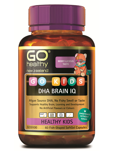 GO KIDS DHA BRAIN IQ (60 CAPS)