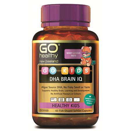 GO Kids DHA Brain IQ 60 Caps