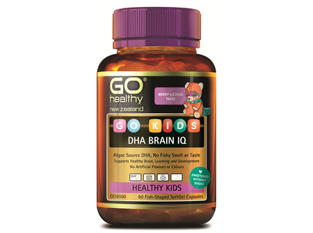 GO Kids DHA Brain IQ (60 caps)