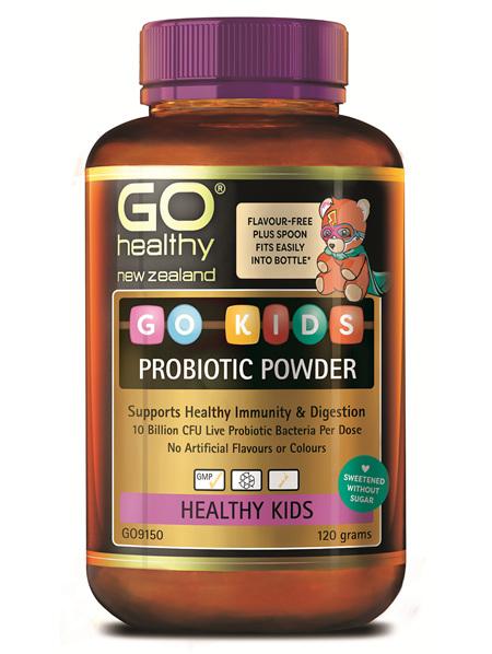 GO KIDS PROBIOTIC POWDER (120G)