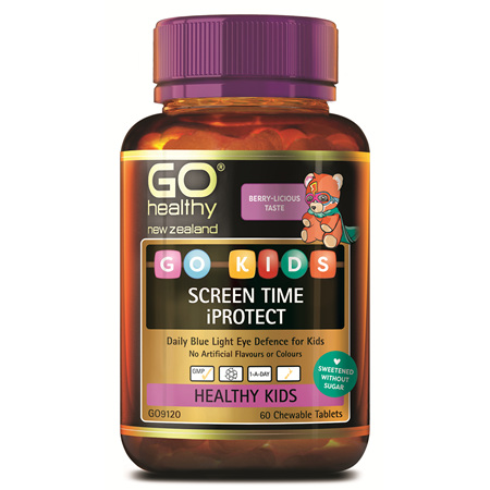 GO KIDS SCREEN TIME IPROTECT (60 C-TABS)