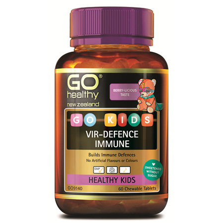 Go Kids Vir-Defence Immune 60 Chew