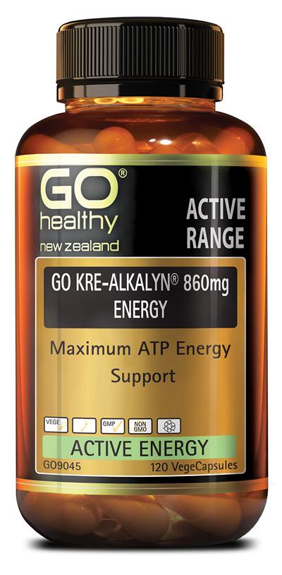 GO KRE-ALKALYN® 860mg ENERGY - ATP Energy Support (120 Vcaps)