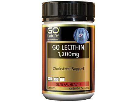 GO Lecithin 1,200mg 120 Caps