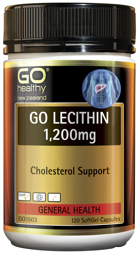 GO Lecithin 1,200mg 120 Caps