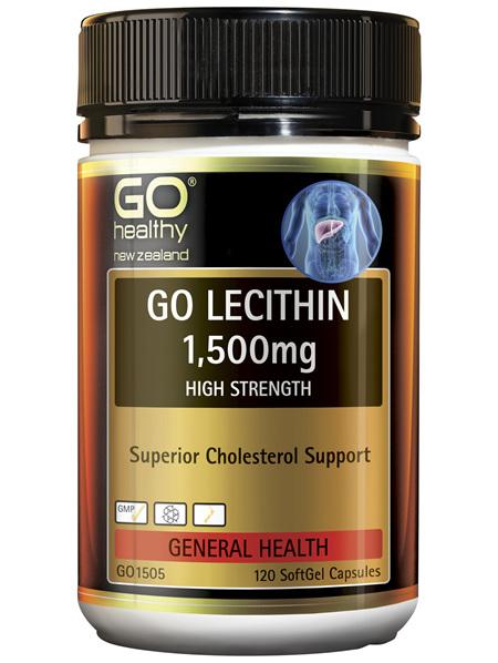 GO Lecithin 1,500mg 120 Caps