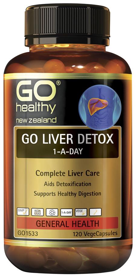 GO Liver Detox 1-A-Day 120 VCaps