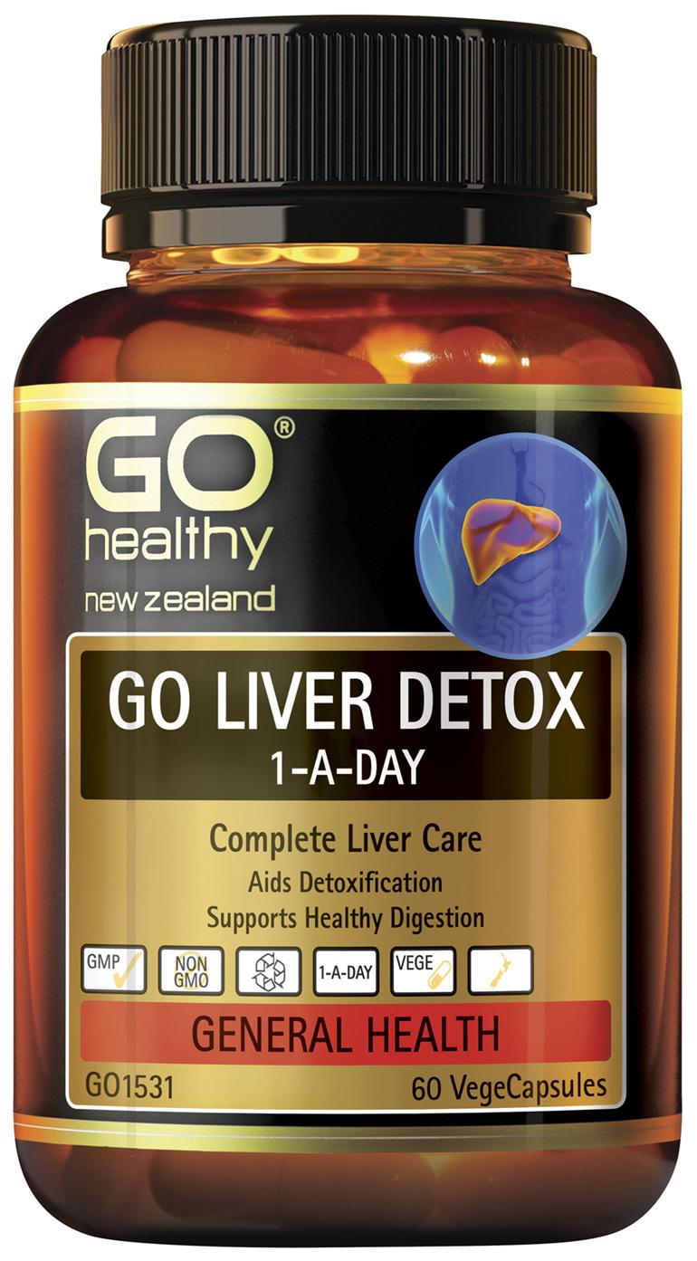 GO Liver Detox 1-A-Day 60 VCaps