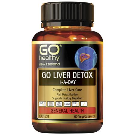 GO Liver Detox 1-A-Day 60vcaps
