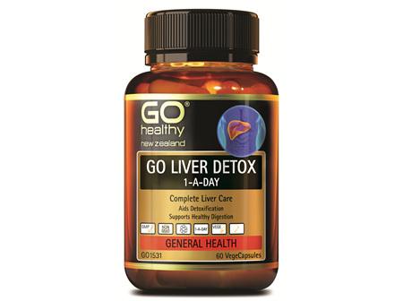 GO LIVER DETOX 1-A-DAY - COMPLETE LIVER CARE (60 CAPS)