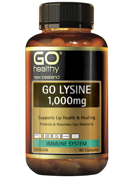 GO Lysine 1,000mg 60 Caps