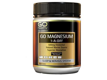 GO Magnesium 1-A-Day 150 Caps