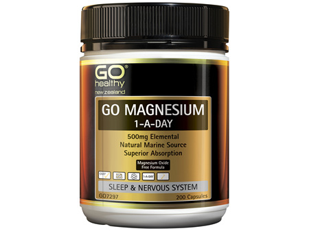 GO Magnesium 1-A-Day 200 Caps
