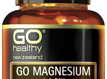 GO Magnesium 1-A-Day 30 Caps