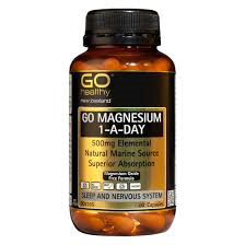 GO Magnesium 1-A-Day 500mg 60 Cap