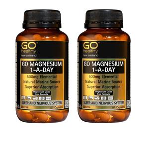 GO Magnesium 1-A-Day 500mg 60 Cap