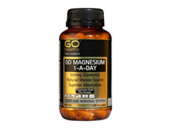 Go Magnesium 1-A-Day 500mg - 60 capsules