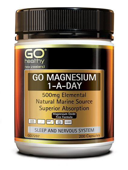 GO MAGNESIUM 1-A-DAY - 500MG ELEMENTAL (200 CAPS)