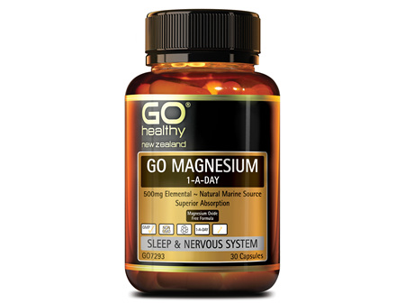 GO MAGNESIUM 1-A-DAY - 500MG ELEMENTAL (30 CAPS)