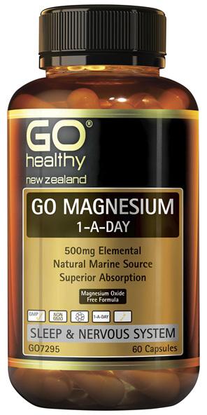 GO Magnesium 1-A-Day 60 Caps