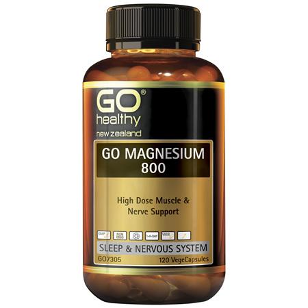 GO Magnesium 800 120vcaps