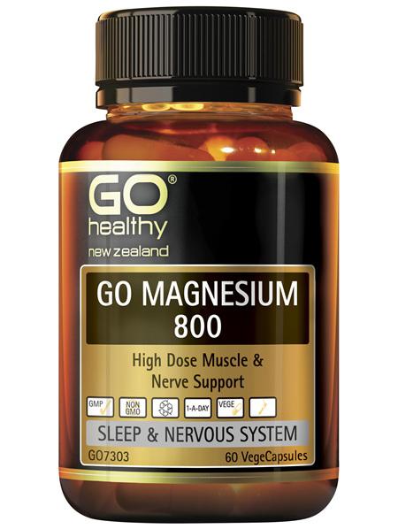 GO Magnesium 800 60 VCaps