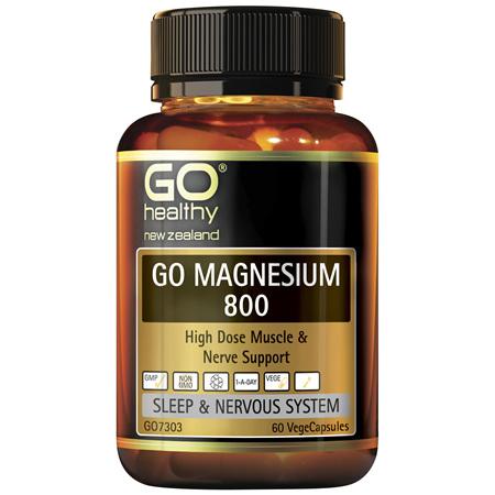 GO Magnesium 800 60vcaps