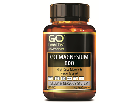 GO MAGNESIUM 800 - High Dose Muscle & Nerve Support (60 Vcaps)