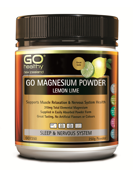 Go Magnesium Powder Lemon Lime - 250g