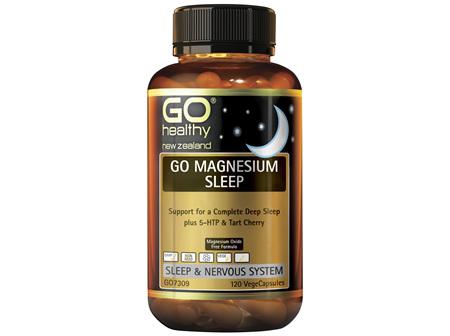 GO Magnesium Sleep 120 VCaps