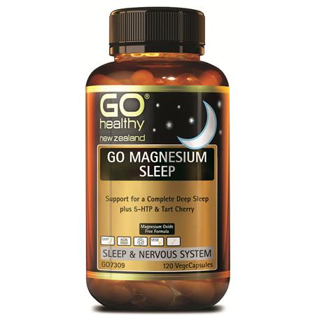 GO Magnesium Sleep 120vcaps