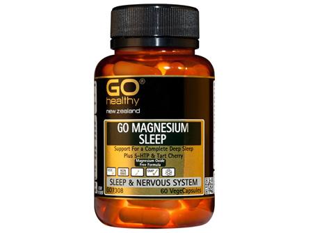 GO MAGNESIUM SLEEP - Support For a Complete Deep Sleep (60 Vcaps)