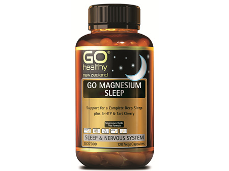 GO MAGNESIUM SLEEP - SUPPORT FOR A COMPLETE DEEP SLEEP (120 VCAPS)