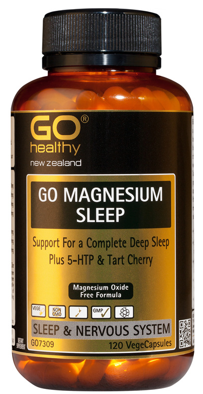GO MAGNESIUM SLEEP - Support For a Complete Deep Sleep (120 Vcaps)